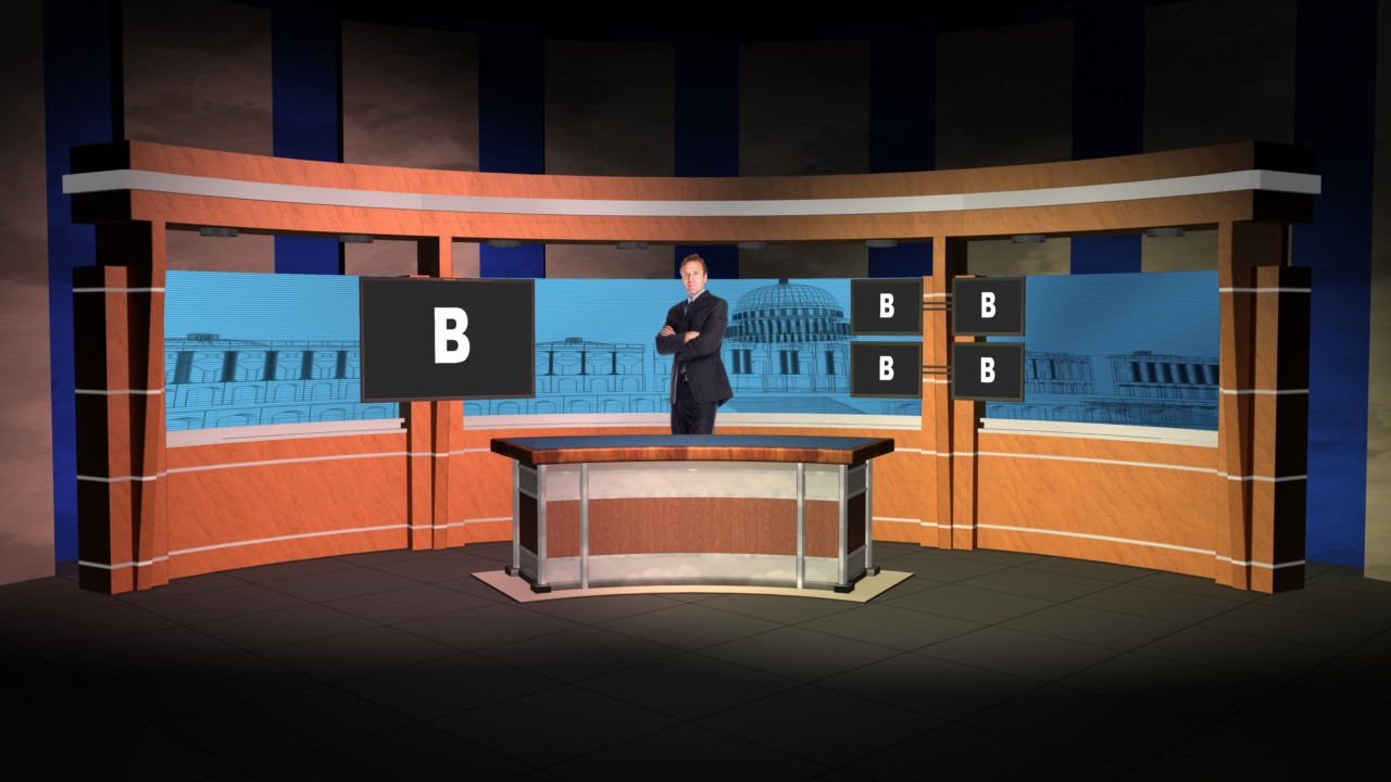 how to make virtual sets for tricaster