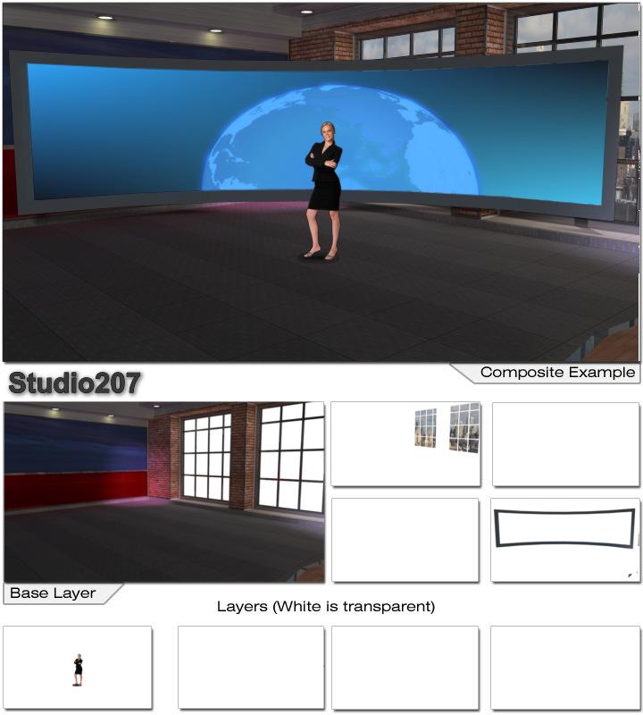 Virtualset com > vMix > Studio 207 vMix